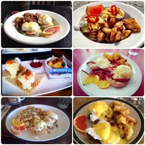 the best places in Calgary for the best breakfast eggs benedict