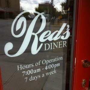 Reds Diner Mission Calgary