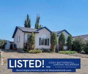 vulcan county alberta home for sale little bow lake